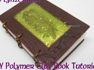 DIY Polymer Clay Book tutorial