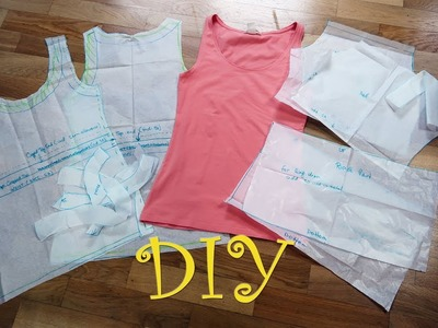 DIY Tank Top Pattern 16 in 1 | Top & Dress Pattern | Sewing For Beginners Part 6