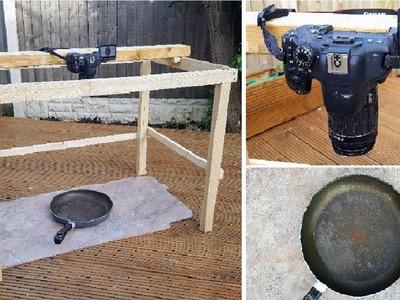 EASY DIY Overhead Birdseyeview Camera Rig | The Carpenter's Daughter