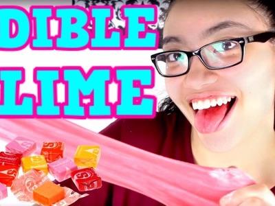 Edible Starburst Slime! EASY DIY SLIME RECIPE FOR KIDS!