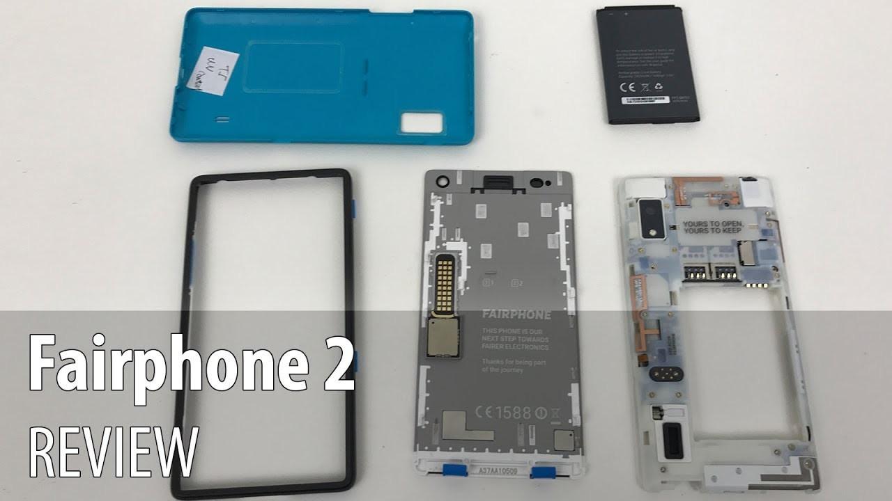 Fairphone 2 Review (Modular and DIY repairable phone)