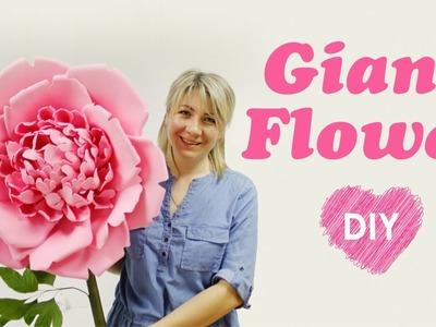 ???????????? Giant foam flower DIY ????????????