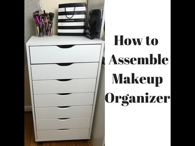How to Assemble Makeup Organizer. Alex DUPE $90 Bucks