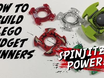 How to Build a Lego Fidget Spinner. DIY Tutorial with Spinjitzu Power - 100% Lego - No Gluing!
