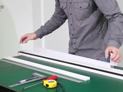 How To Cut and Install: DIY RETRACTABLE SCREEN DOOR