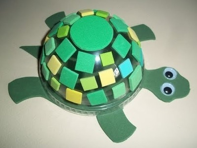 How to make a beautiful turtle craft 2017
