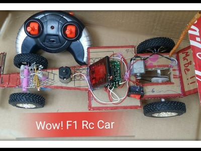 How to make a F1 RC car at home - DIY