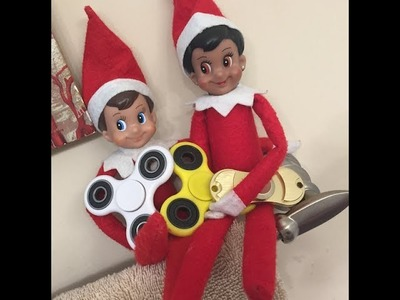 HOW TO MAKE A FIDGET SPINNER: ELF ON THE SHELF DIY