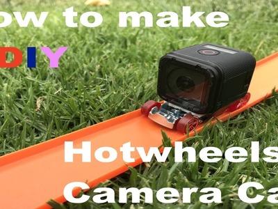 How to make a Hot wheels Gopro Camera Car DIY Tutorial | HOBBYTRACKS
