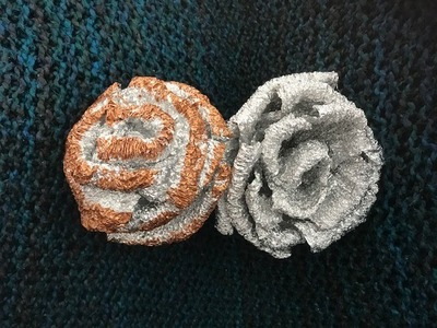How to Make Aluminium Foil Flowers - DIY Crafts
