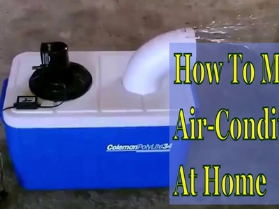 How to make an Air Conditioner Homemade low Budget DIY