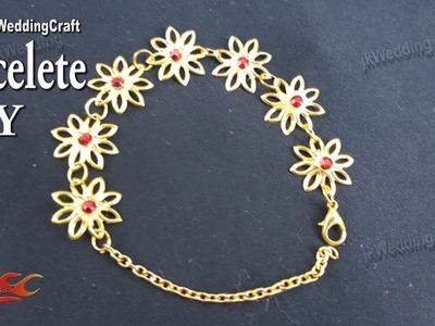 How to make bracelets at home | JK Wedding Craft 132