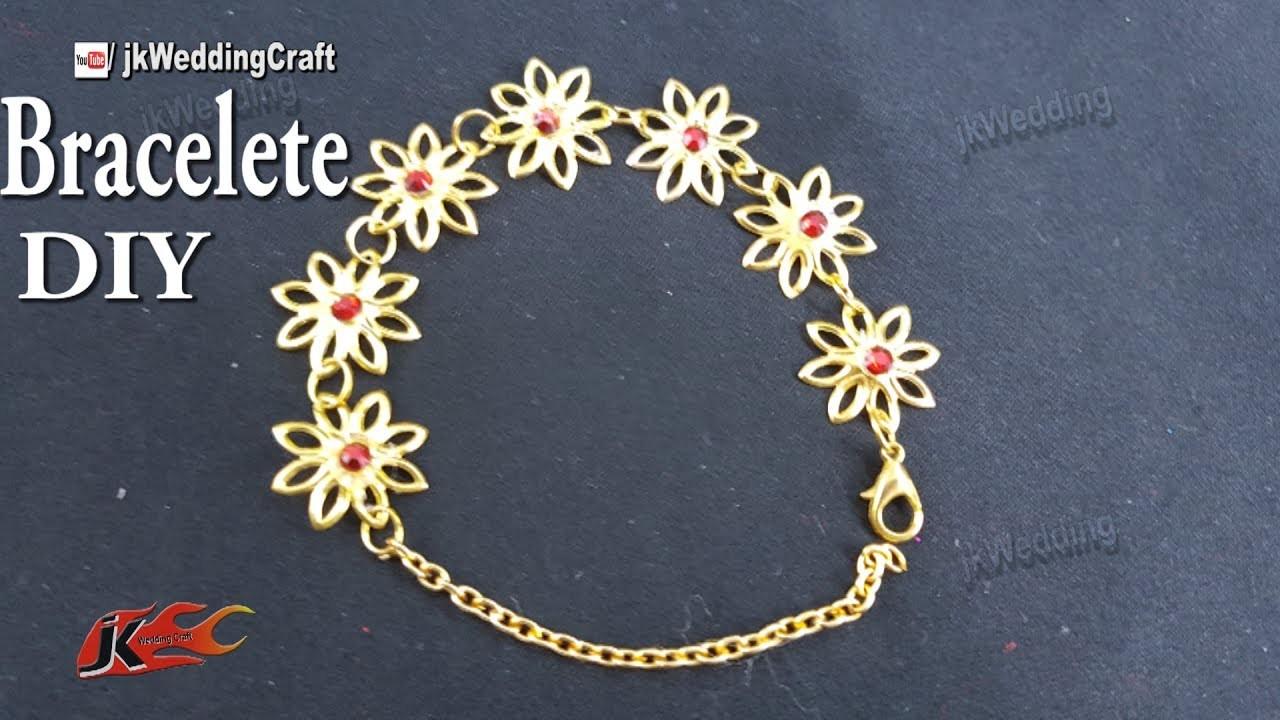 How to make bracelets at home   JK Wedding Craft 132