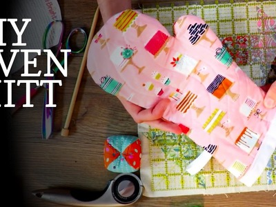 How To Make DIY Oven Mitts