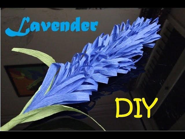 How To Make Lavender Paper Flower Diy Easy Origami