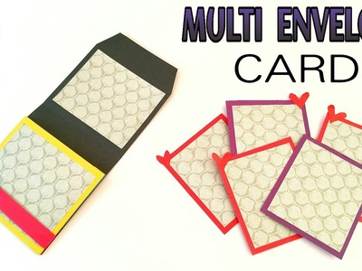 Multi Envelope Card - DIY Tutorial by Paper Folds - 712