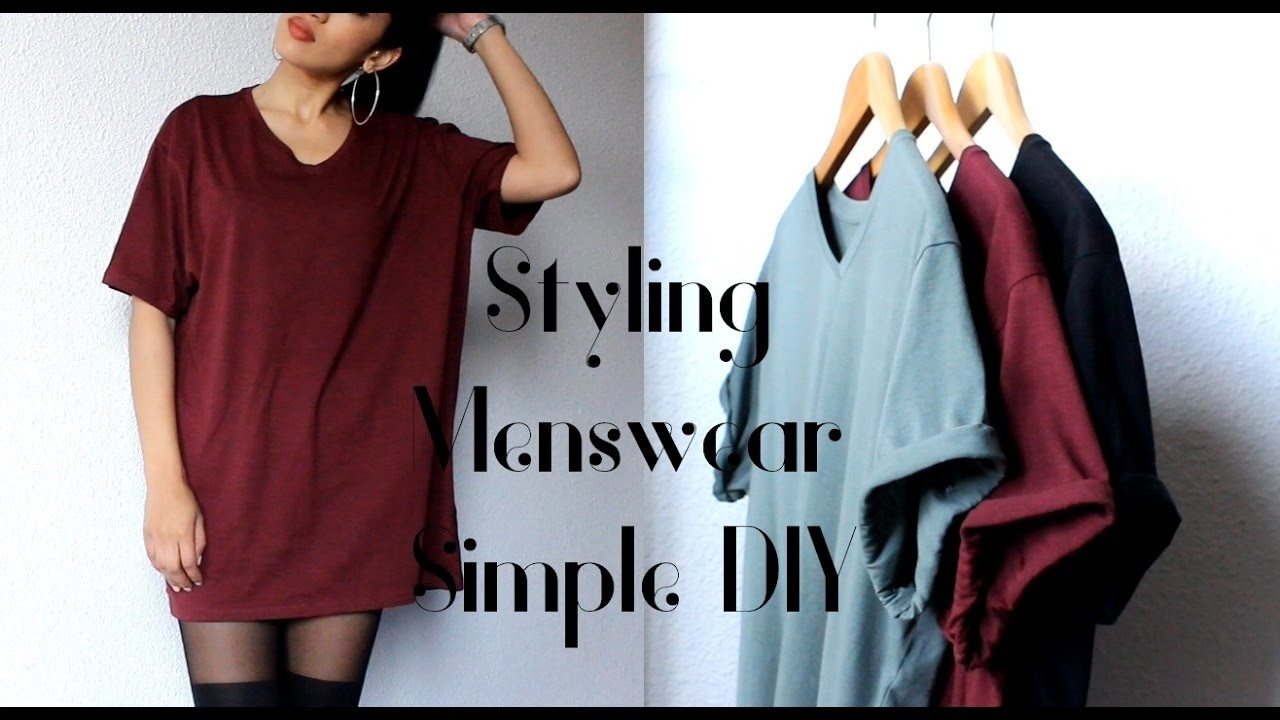 Oversized Fashion ~ Styling Menswear| Roll Up Sleeves| Quick and Easy Beginner DIY| CillasMakeup88