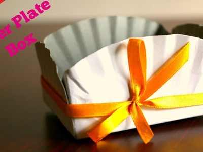 Paper plate Box (Easy Craft)