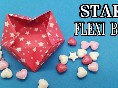 Star Flexible | Collapsable Box - DIY Tutorial by Paper Folds - 709