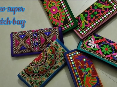 Super new Clutch bag make at home Diy