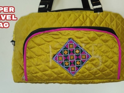 Super travel bag make at home diy
