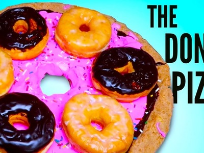 THE DONUT PIZZA DIY   How To
