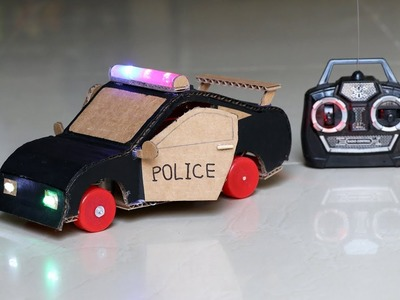 Wow! Amazing DIY RC Police Car - My New RC Cop Car