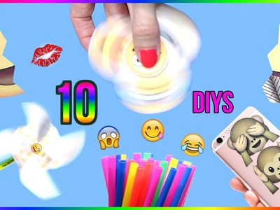 5-Minute Crafts To Do When You're BORED! 10 DIY Emoji Projects You NEED To Try! Life Hacks & DIYs!