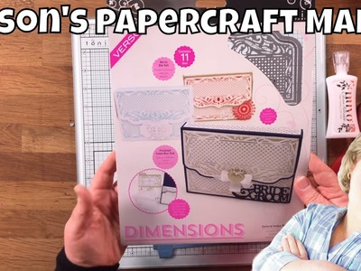 Alison's Papercraft Makes - How to Put Together a Basic Index Box