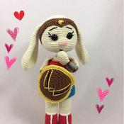 Amigurumi Wonder Bunny - PDF PATTERN