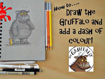 ArtCadets: How to draw the Gruffalo step by step!
