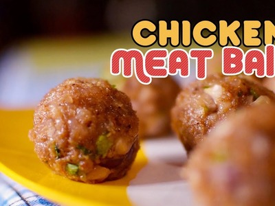 Chicken Meat Balls | How to Make Yummy Chicken MeatBalls | Yummy Nepali Kitchen