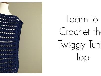 Cotton Crochet Tunic | Summer Crochet | Crochet Clothes | Twiggy Tunic
