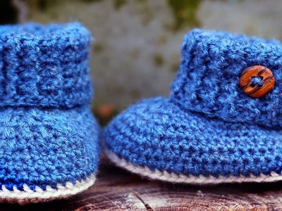 Crochet Booties For 1 Year Old Ideas