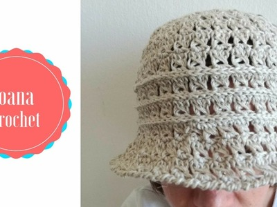 Crochet Summer Chic Hat by Oana