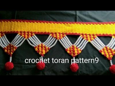 Crochet toran pattern 9 how to make