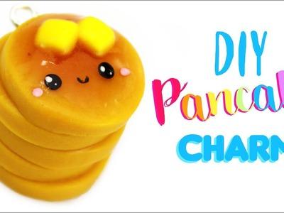 DIY CUTE Pancake pile CHARM!! - with GLITTER | Kawaii Friday