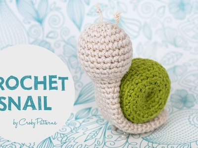 Easy Crochet Tutorial How To Make An Amigurumi Snail