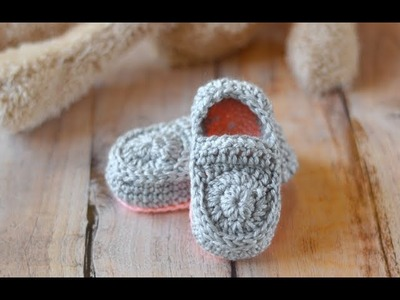 How to Crochet Adorable Baby Loafers