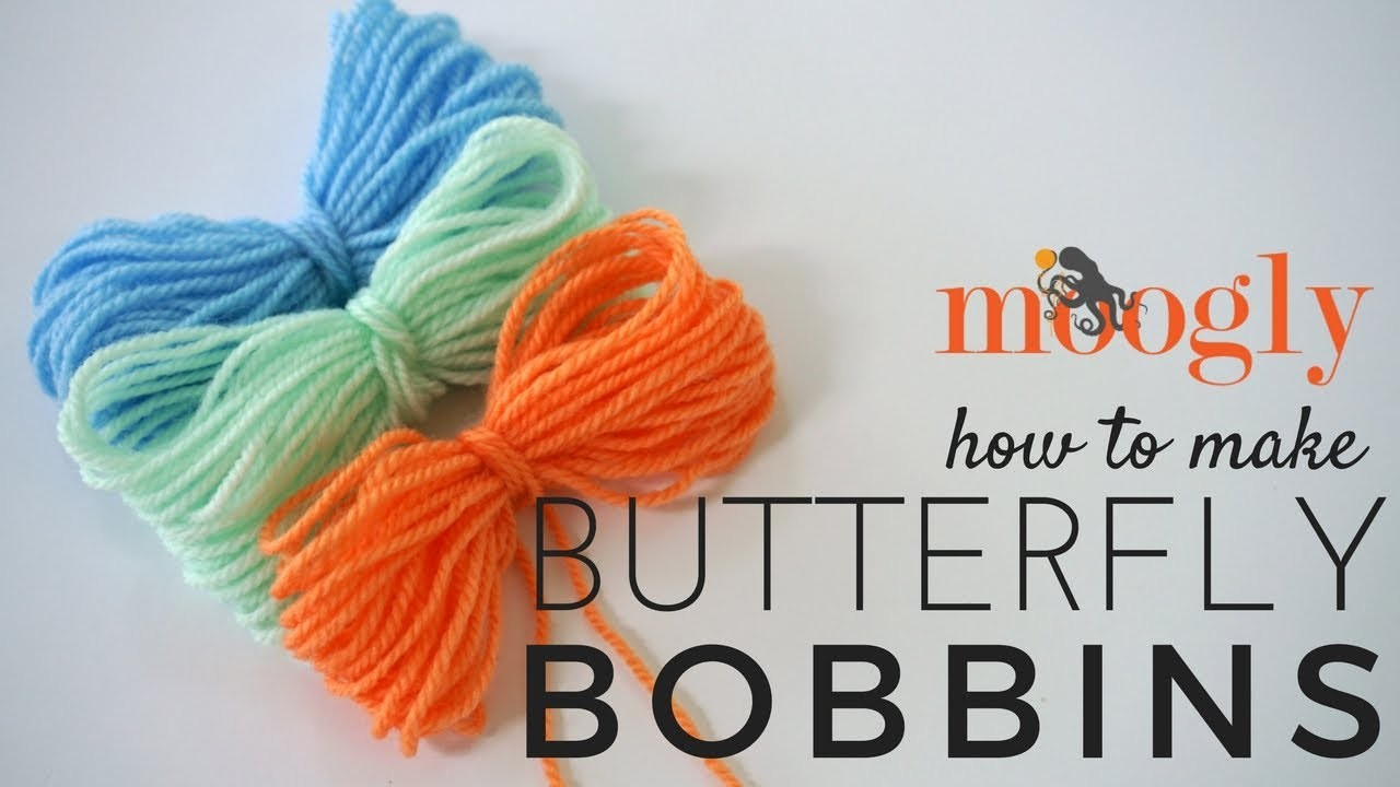 How to Crochet: Butterfly Bobbins