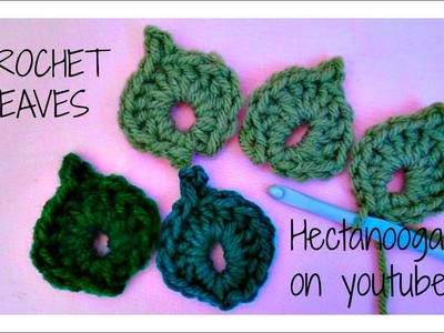 HOW TO CROCHET LEAVES - crochet leaf
