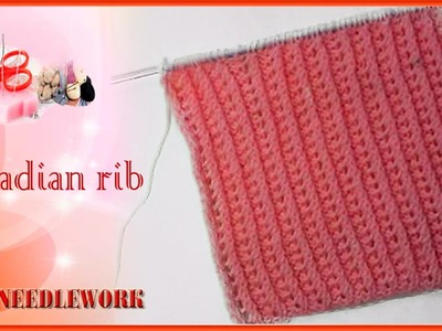 How to Knit: Canadian rib