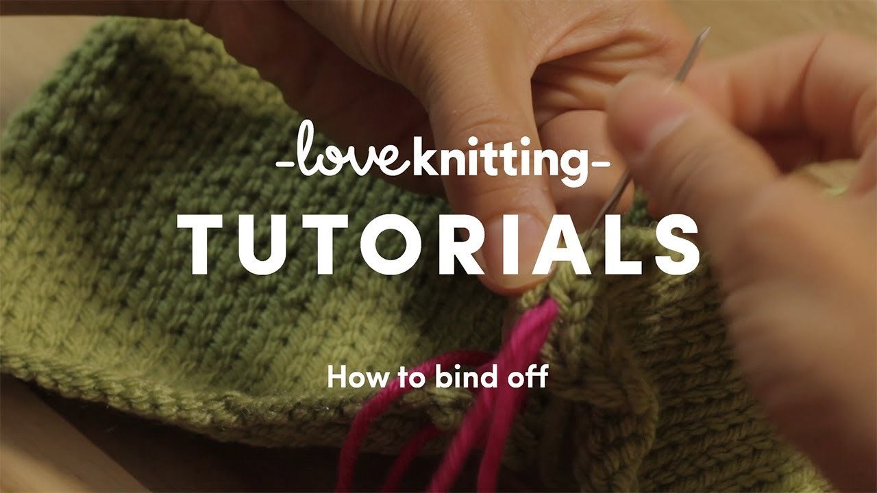 How To Knit - Cast Off (US Terminology)