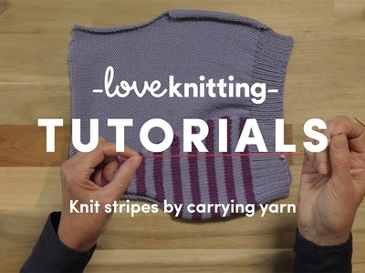 How To Knit - Knitting Stripes (US Terminology)
