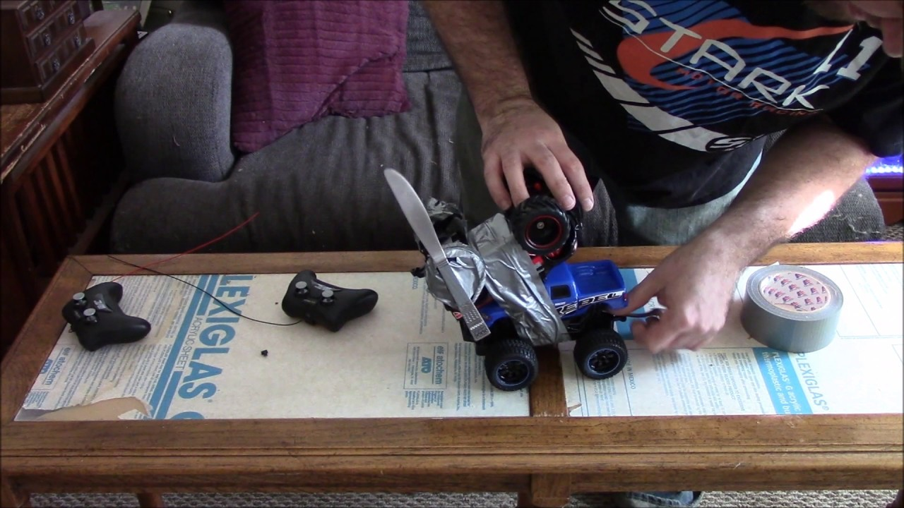 how to make a battlebot at home