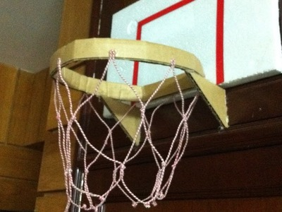 How to make a homemade basketball net| How make an easy basketball string