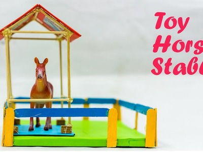 How To Make A Toy Horse Stable