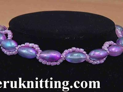 How to Make Bracelet Crochet Tutorial 127