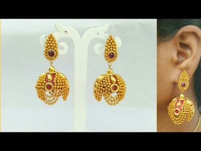 How To Make Designer Silk Thread Jhumkhas.How To Make Silk Thread Earrings.DIY.Home Made Jewelry