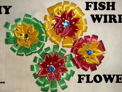 How to make FISHWIRE FLOWERS
